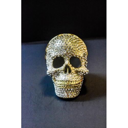 Crystal skull Trinket Box