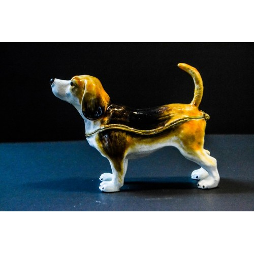 Beagle Trinket Box