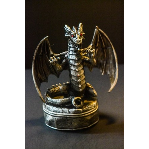 Dragon Wings Spread Trinket Box
