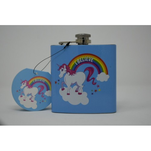 I Belive Hip Flask
