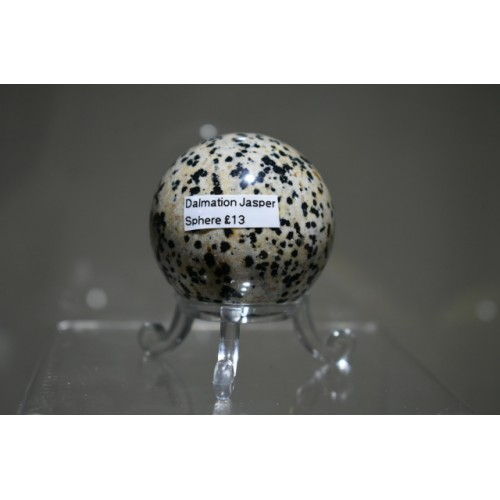 Dalmation Jasper Sphere
